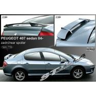 Stylla spoiler zadního víka Peugeot 407 sedan