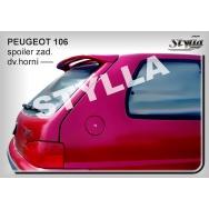 Stylla spoiler zadních dveří Peugeot 106 facelift (1996 - 2003)