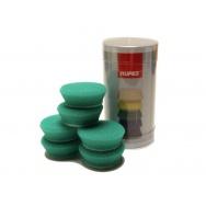 """RUPES Velcro Polishing Foam Pad MEDIUM - pěnové lešticí kotouče (střední) pro RUPES iBrid BigFoot nano, průměr 30/40 mm (1""""1/4) - sada 6 ks"""