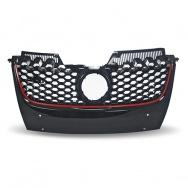 JOM přední maska VW Golf V GTI Look - červený lem