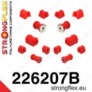 Strongflex sportovní silentbloky VW Scirocco I / II, sada pro přední a zadní nápravu