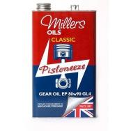 Převodový olej Millers Oils Classic Gear Oil EP 80w90 GL4, 5L