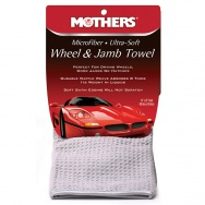Mothers Microfiber Ultra-Soft Wheel & Jamb Towel - ultra jemný mikrovláknový sušící ručník na disky, sloupky a mezidveřní prostory, 40 x 50cm