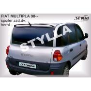 Stylla spoiler zadních dveří Fiat Multipla (1998 - 2010) - horní