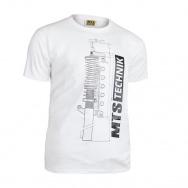 MTS Technik Strut tričko - bílá