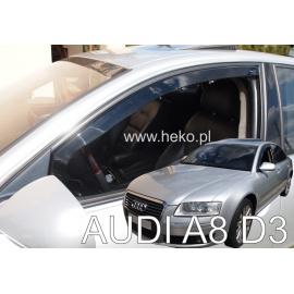 HEKO ofuky oken Audi A8 (D3, 2003-2010) přední
