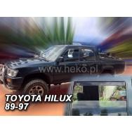HEKO ofuky oken Toyota  Hilux V 4dv (1989-1997) přední + zadní