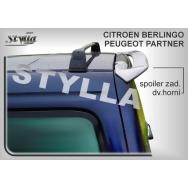 Stylla spoiler zadních dveří Citroen Berlingo (1996 - 2008) - horní