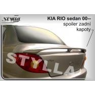 Stylla spoiler zadního víka Kia Rio sedan (2000 - 2005)