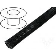 Flexo oplet 10 mm černý