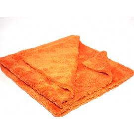 Mammoth Orange Canary Extra Soft Buffing Towel - mirovláknový, extra měkký, detailingový ručník, 40x40cm