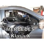 HEKO ofuky oken Mercedes X (2017-) přední