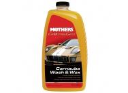 Mothers California Gold Carnauba Wash & Wax - luxusní hustý autošampon s karnaubským voskem, 1892 ml