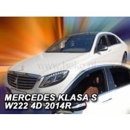 HEKO ofuky oken Mercedes Benz S W222 4dv (2013-) přední + zadní
