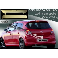 Stylla spoiler zadních dveří Opel Corsa D 5dv (2006 - 2014)
