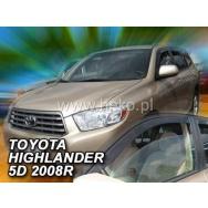 HEKO ofuky oken Toyota  Highlander 5dv (od 2007) přední