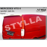 Stylla spoiler zadních dveří Mercedes Benz Vito II (W639, 2003 - 2014)