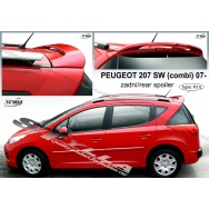 Stylla spoiler zadních dveří Peugeot 207 SW (combi)