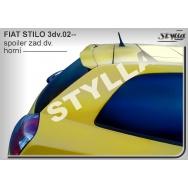 Stylla spoiler zadních dveří Fiat Stilo 3dv (2001 - 2007) - horní