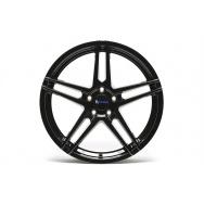 TA Technix XF3 ALU lité kolo konkávní 8,5x19 - černá lesklá, 5x112, 66,6/57,1 ET35