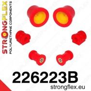 Strongflex sportovní silentblok Seat Ibiza 6L, sada pro přední nápravu