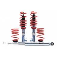 Kompletní výškově stavitelný podvozek H&R Monotube s větším snížením pro VW Scirocco III včetně R r.v. 08/08> s pohonem předních kol