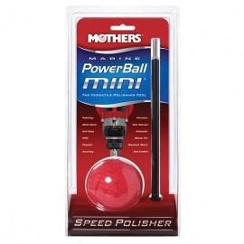 Mothers Marine PowerBall Mini - pěnový nástroj s nástavcem pro leštění a čištění těch nejméně přístupných míst