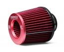 Raemco vzduchový filtr - univerzální, vstup 63mm, červený