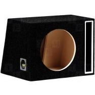 Subwooferová štěrbinová ozvučnice 50L/300mm černá