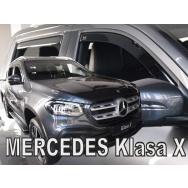 HEKO ofuky oken Mercedes X (2017-) přední + zadní