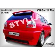 Stylla spoiler zadních dveří VW Golf III (3) htb