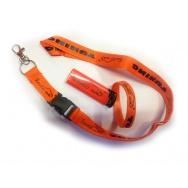 Revilo set - oranžový zapalovač, oranžový náramek a šňůra