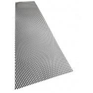 Hliníkový tahokov, kosočtverec, 100 x 25 cm - černý, střední oka