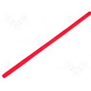 Smršťovací trubice 3.2 mm červená