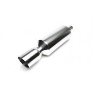 TA Technix sportovní nerezový tlumič výfuku - zkosená kulatá koncovka, 115/65mm