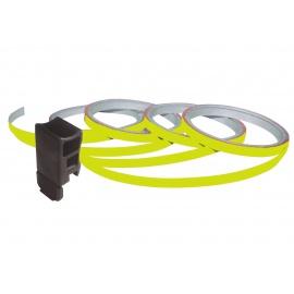 Foliatec proužky na ráfky - neonová žlutá