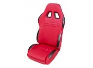 TA Technix sportovní sedačka sklopná - červená Alcantara, pravá