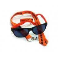 Revilo set - brýle, oranžový náramek a šňůra