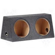 Subwooferová uzavřená ozvučnice 30+30L/300mm
