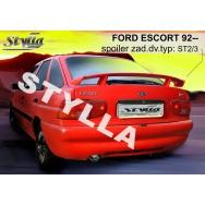 Stylla spoiler zadních dveří Ford Escort htb (1992 - 2000)