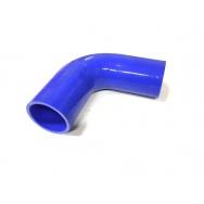Silikonová hadice - koleno 90° - 60 mm vnitřní průměr, délka ramene 150 mm