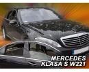HEKO ofuky oken Mercedes Benz S W221 4dv (2005-2013) přední + zadní