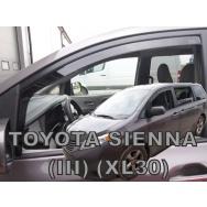 HEKO ofuky oken Toyota Sienna III 5dv (od 2010) přední