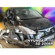 HEKO ofuky oken Hyundai i10 5dv (2008-2013) přední + zadní