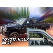 HEKO ofuky oken Toyota  Hilux V 4dv (1989-1997) přední
