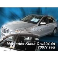 HEKO ofuky oken Mercedes Benz C W204 4dv sedan (2007-2014) přední + zadní