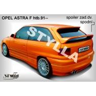 Stylla spoiler zadních dveří Opel Astra F htb (1991 - 1997) spodní