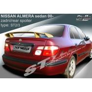Stylla spoiler zadního víka Nissan Almera sedan (2000 - 2006)