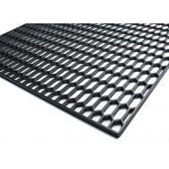 """Mřížka do nárazníku (""""plastový tahokov""""), 120 x 40 cm - velké plástve 30 x 12 mm, černá"""