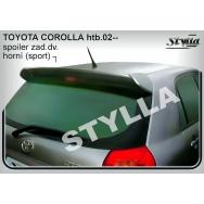 Stylla spoiler zadních dveří Toyota Corolla htb (2002 - 2006)